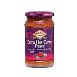 PATAK EXTRA HOT CURRY PASTE 283G