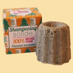LAMAZUNA SHAMPOING SOLIDE CHEVEUX NORMAUX AU PIN SYLVESTRE