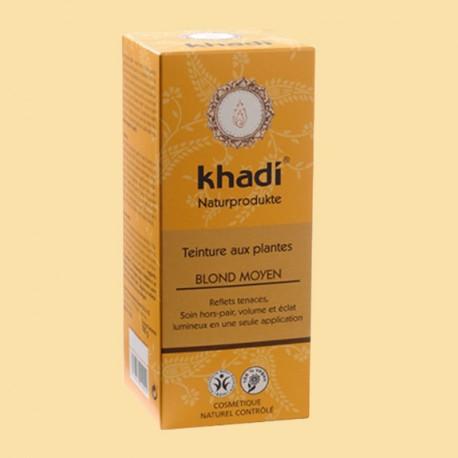 KHADI COLORATION VEGETALE BLOND MOYEN 100G