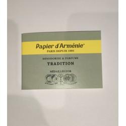 PAPIER ARMENIE TRADITION