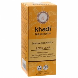 KHADI COLORATION VEGETALE BLOND CLAIR 100G