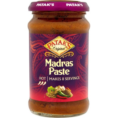 PATAK MADRAS CURRY PASTE 283G