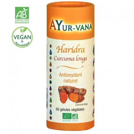 AYURVANA HARIDRA 60 CAPS
