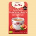 YOGI TEA CANNEBERGE HIBISCUS 17 sachets
