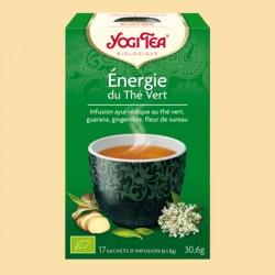 YOGI TEA ENERGIE DU THE VERT 17 sachets