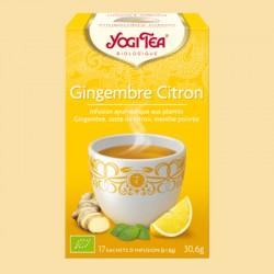 YOGI TEA - GINGEMBRE CITRON 17 sachets